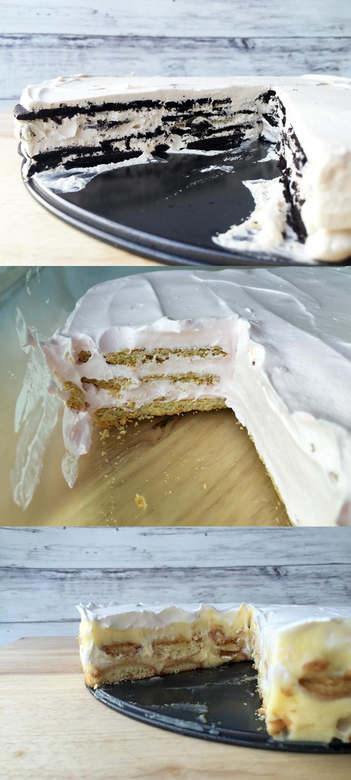 three icebox cake recipes