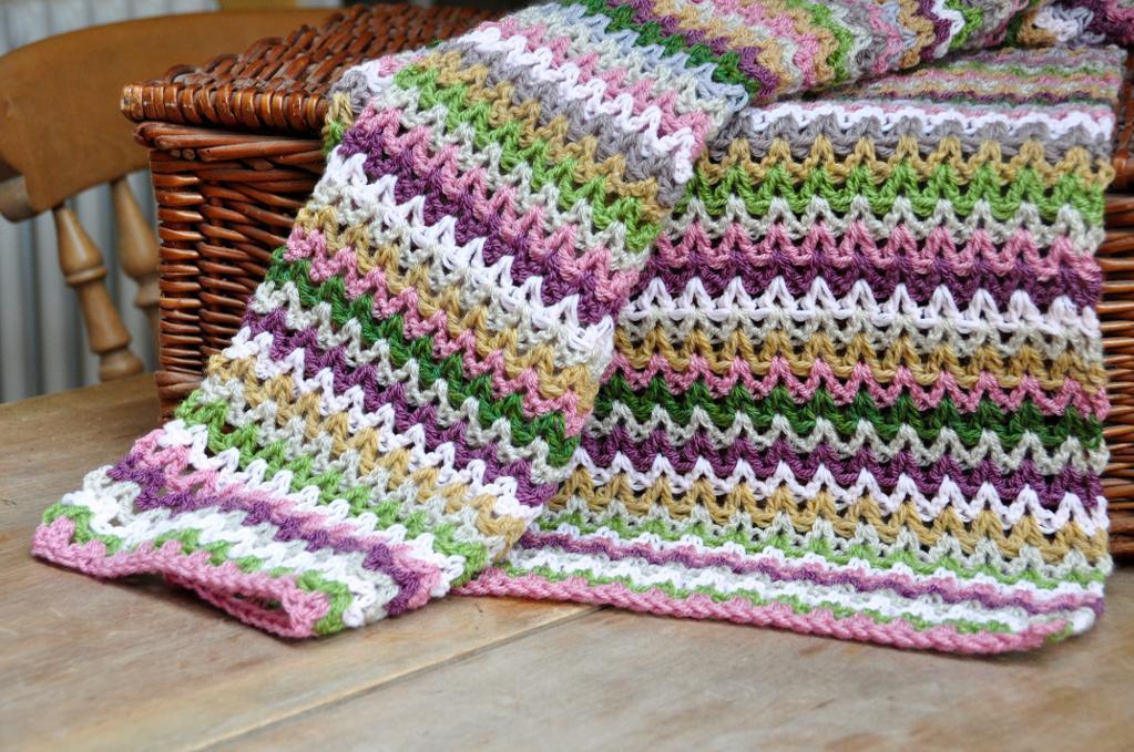 V-stitch Blanket