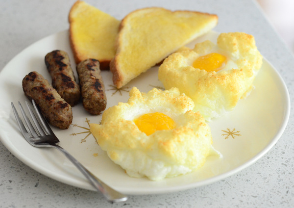 How to Make Baked Eggs in Clouds