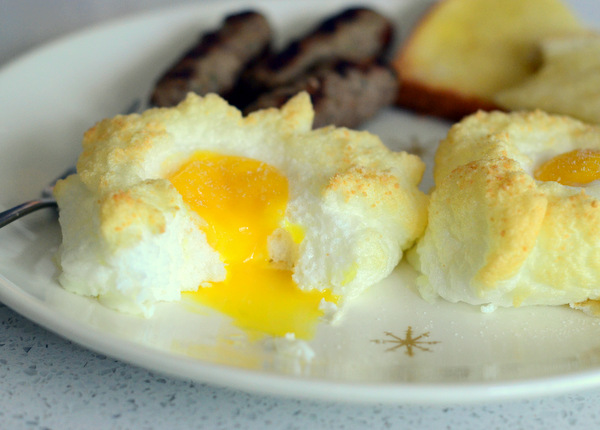 How to Make Baked Egg Clouds for Brunch