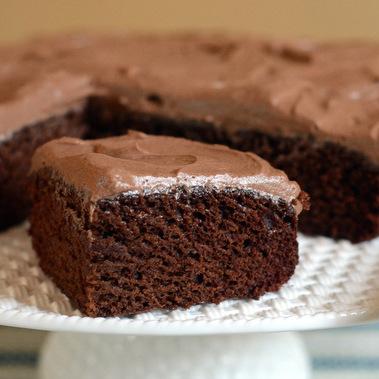One-Bowl Eggless Chocolate Cake Recipe
