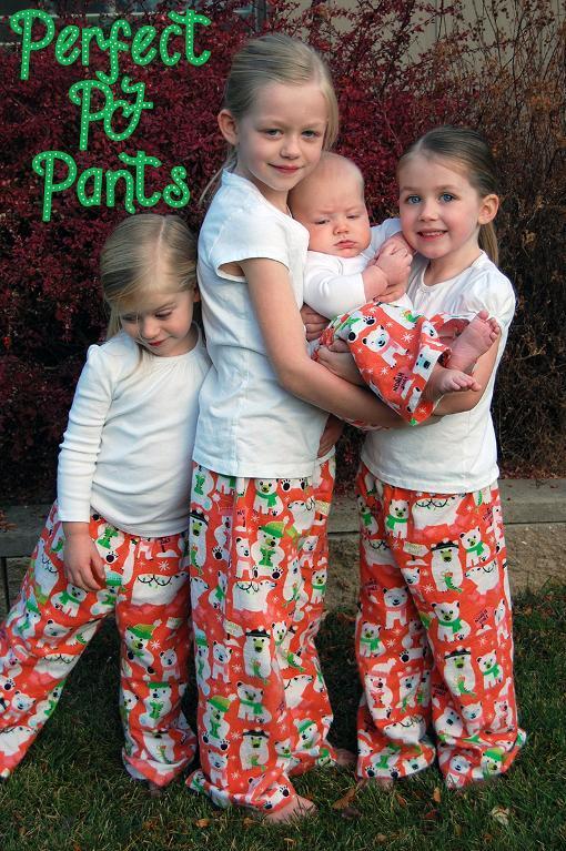 Perfect PJ Pants FREE Sewing Pattern