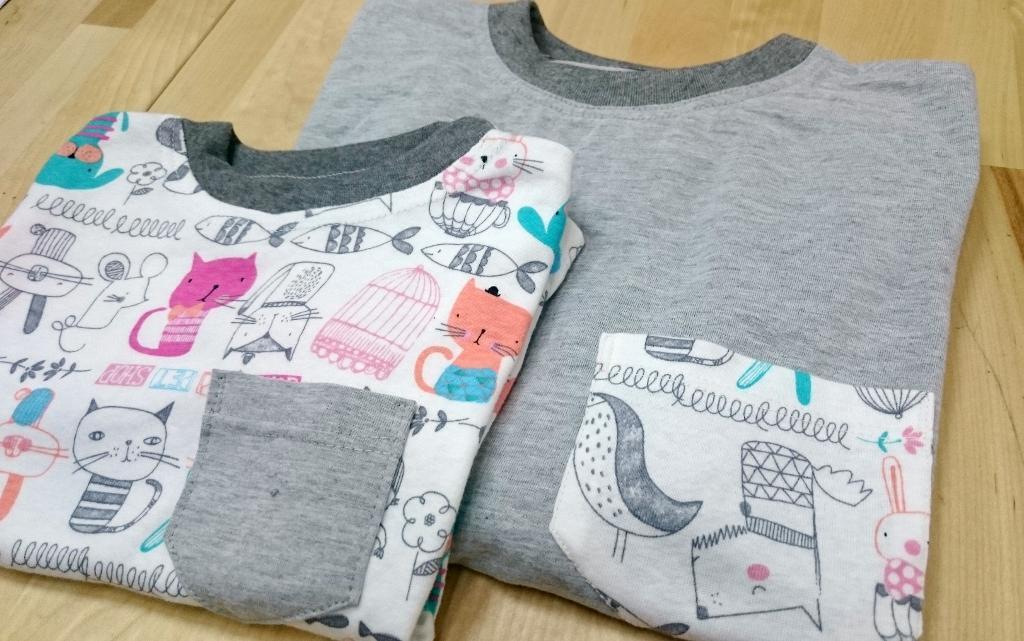 Parent & Child Matching Tee FREE Sewing Pattern