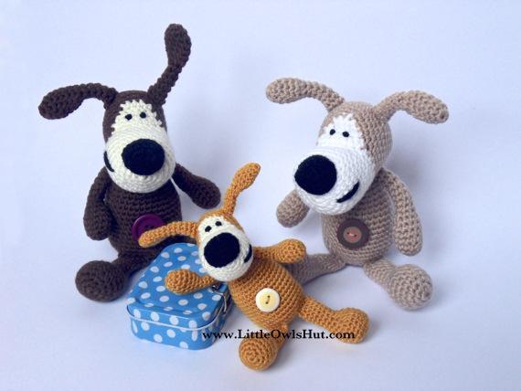 Buffy the Dog FREE Crochet Pattern