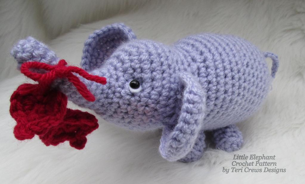 Little Elephant FREE Crochet Pattern