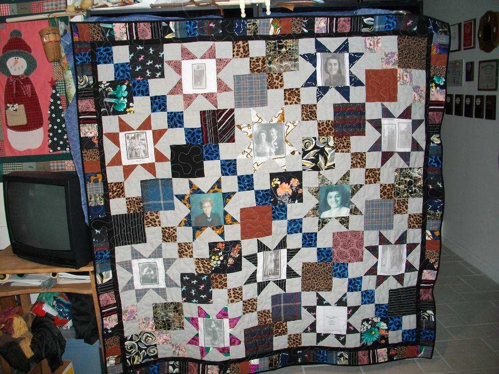 Memory Quilt With Photos