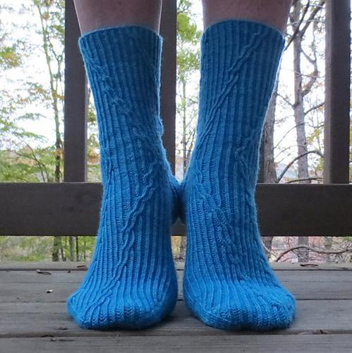 Serendipity Free Sock Knitting Pattern