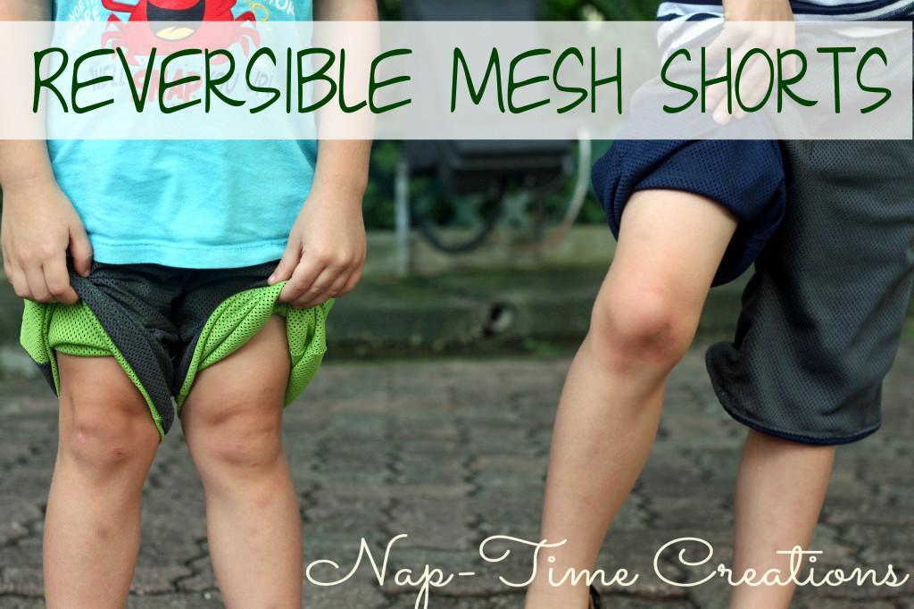 Mesh Shorts FREE Sewing Pattern