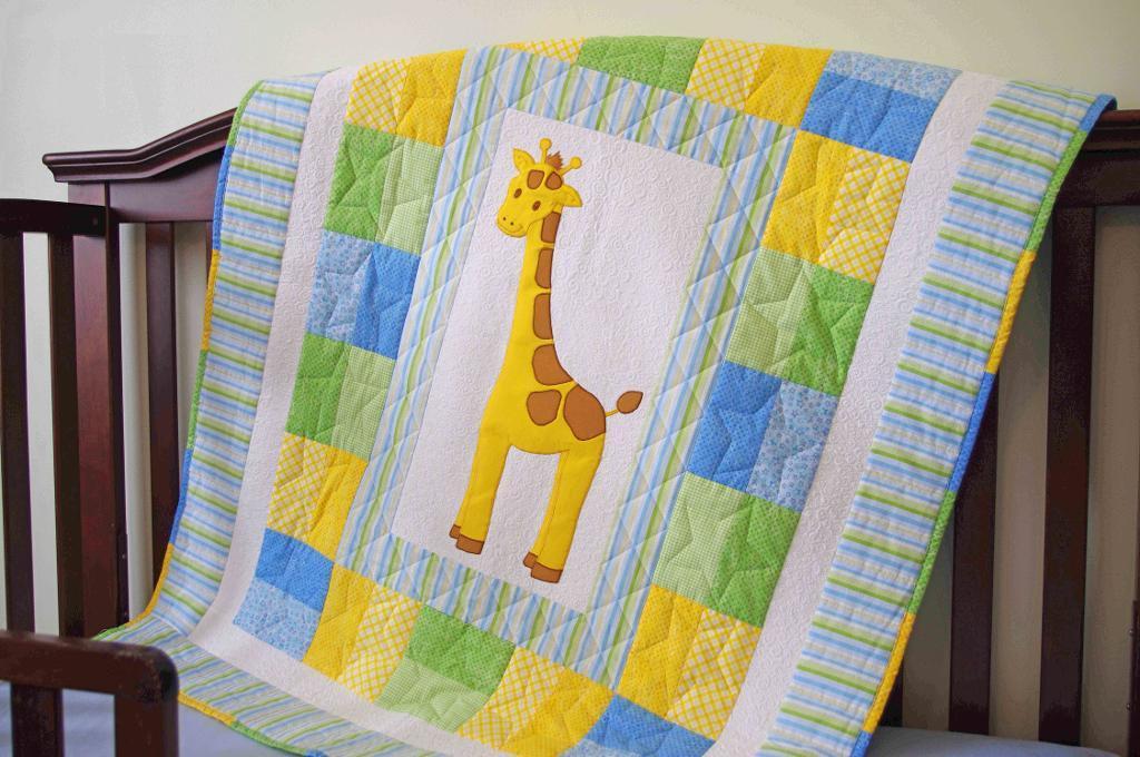 Giraffe Baby Quilt