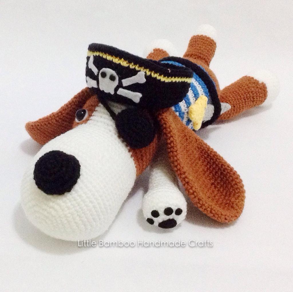 The Pirate Dog Crochet Pattern