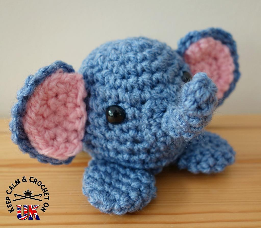 Ezra the Elephant FREE Crochet Pattern