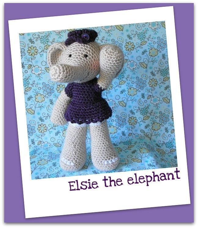 Elsie the Elephant Crochet Pattern