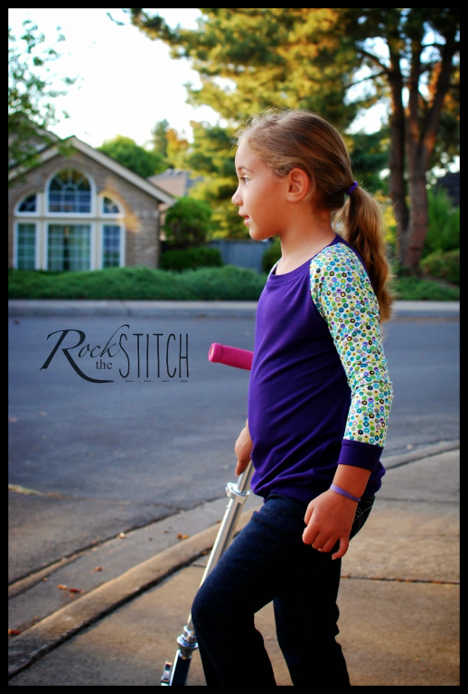 Free Children's Raglan T-Shirt Sewing Pattern