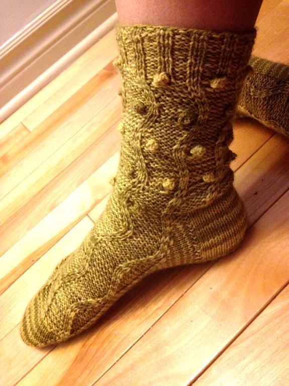 Alligator Socks FREE Knitting Pattern