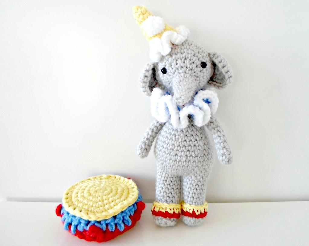 Mr. Elephant Crochet Pattern