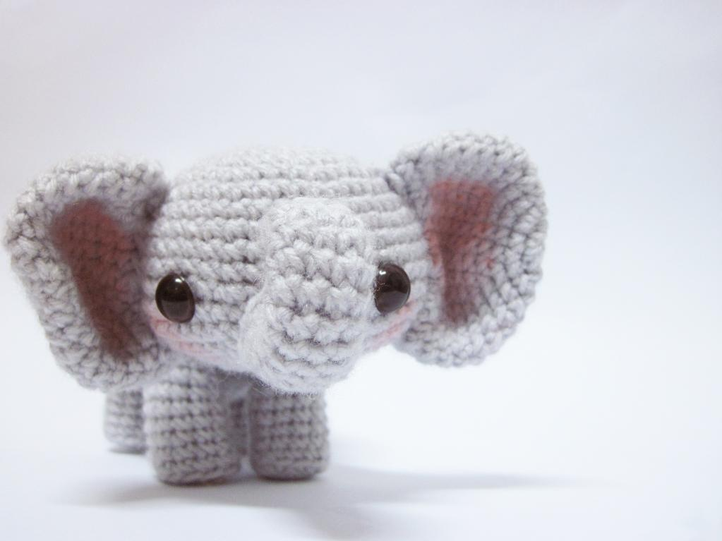Sadie the Elephant Crochet Pattern