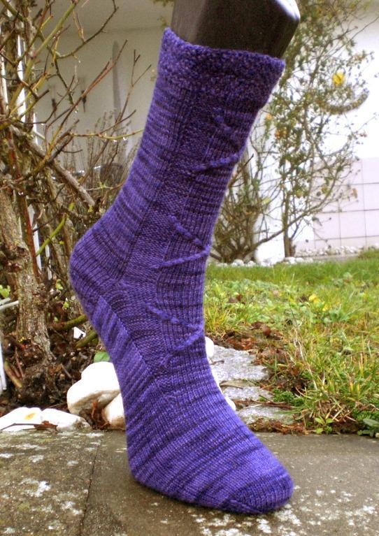 Swatching Socks Free Knitting Pattern