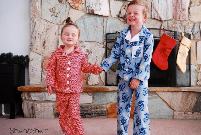 Pajama Top and Bottom FREE Sewing Pattern