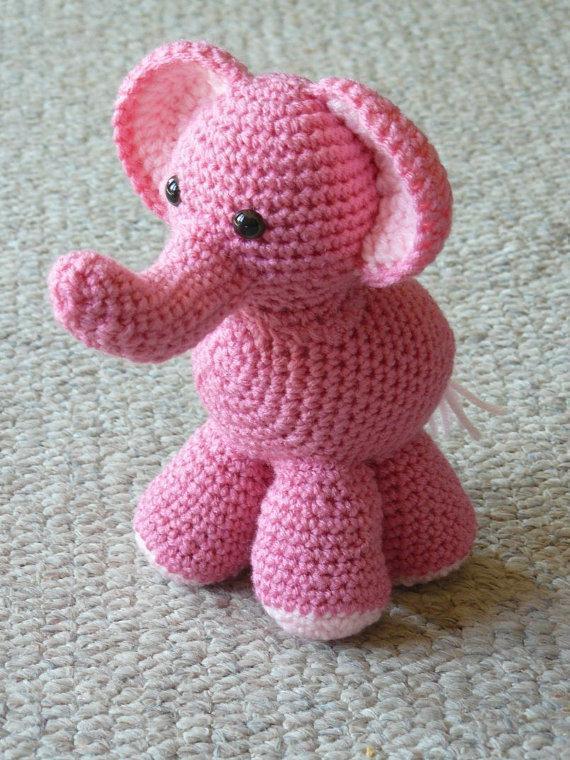 Daniella Elephant Crochet Pattern