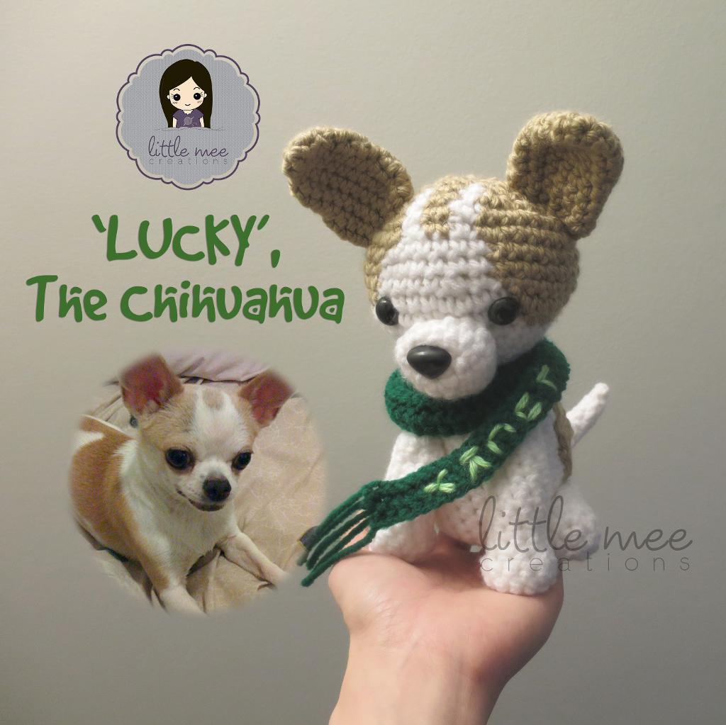 'Lucky', the Chihuahua Dog Amigurumi
