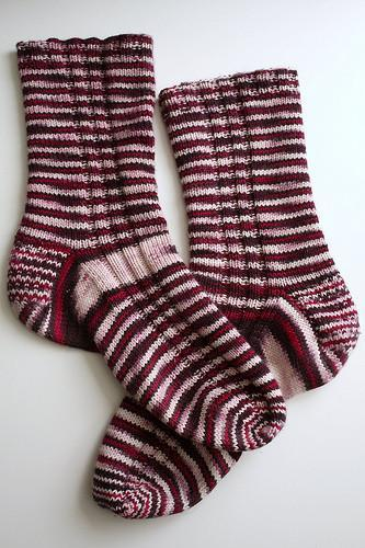 Crazy Yarn Socks FREE Knitting Pattern