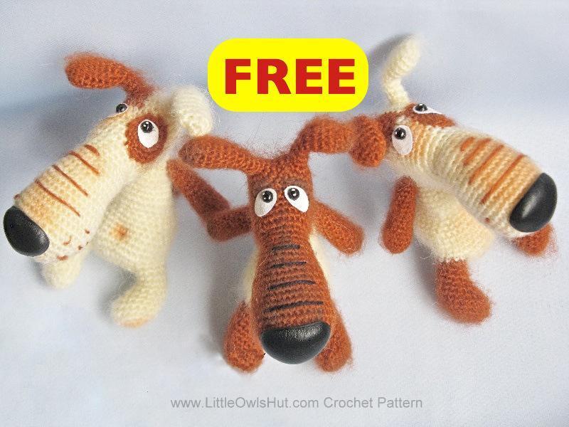 Lucky Borisenko Dog Crochet Pattern