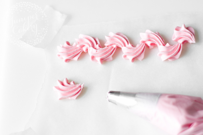 How to pipe a scroll border with buttercream or royal icing