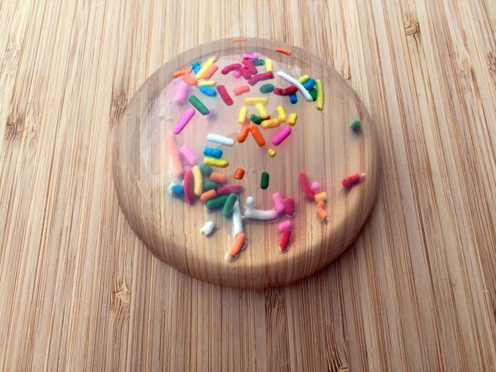 raindrop cake sprinkles