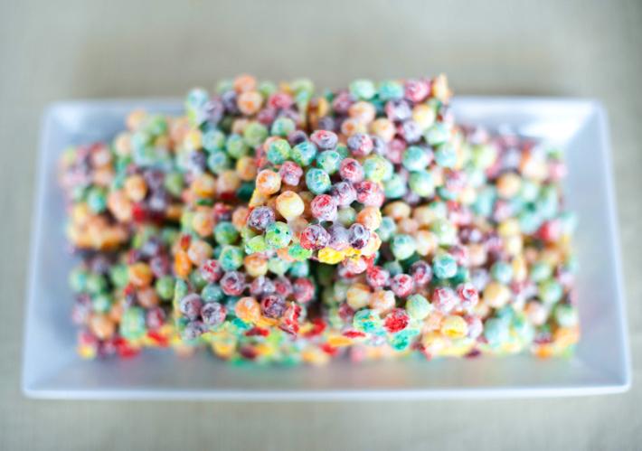 fruity cereal treats