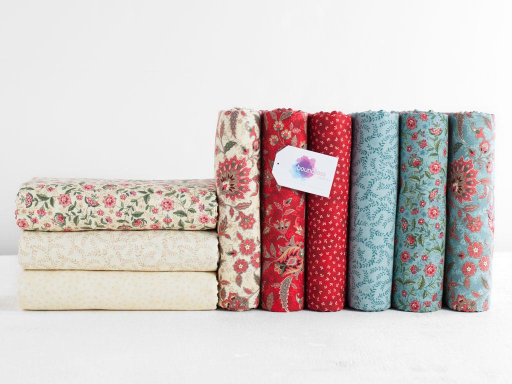Boundless Heirloom Bloom Fabric By The Yard