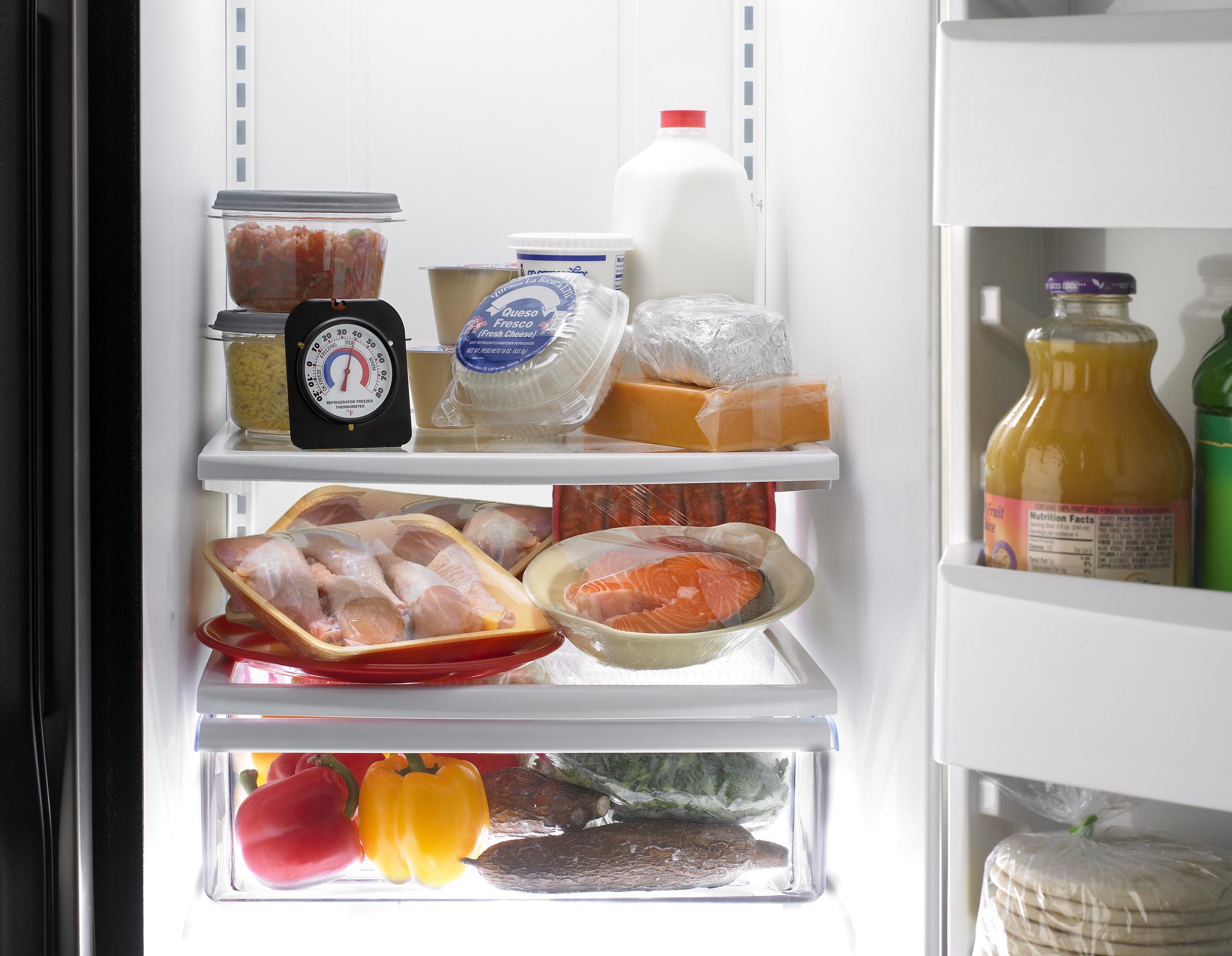 Refrigerator thaw