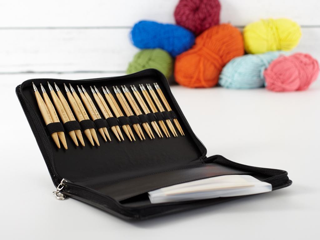 Clover Takumi Interchangeable Circular Knitting Needles Set