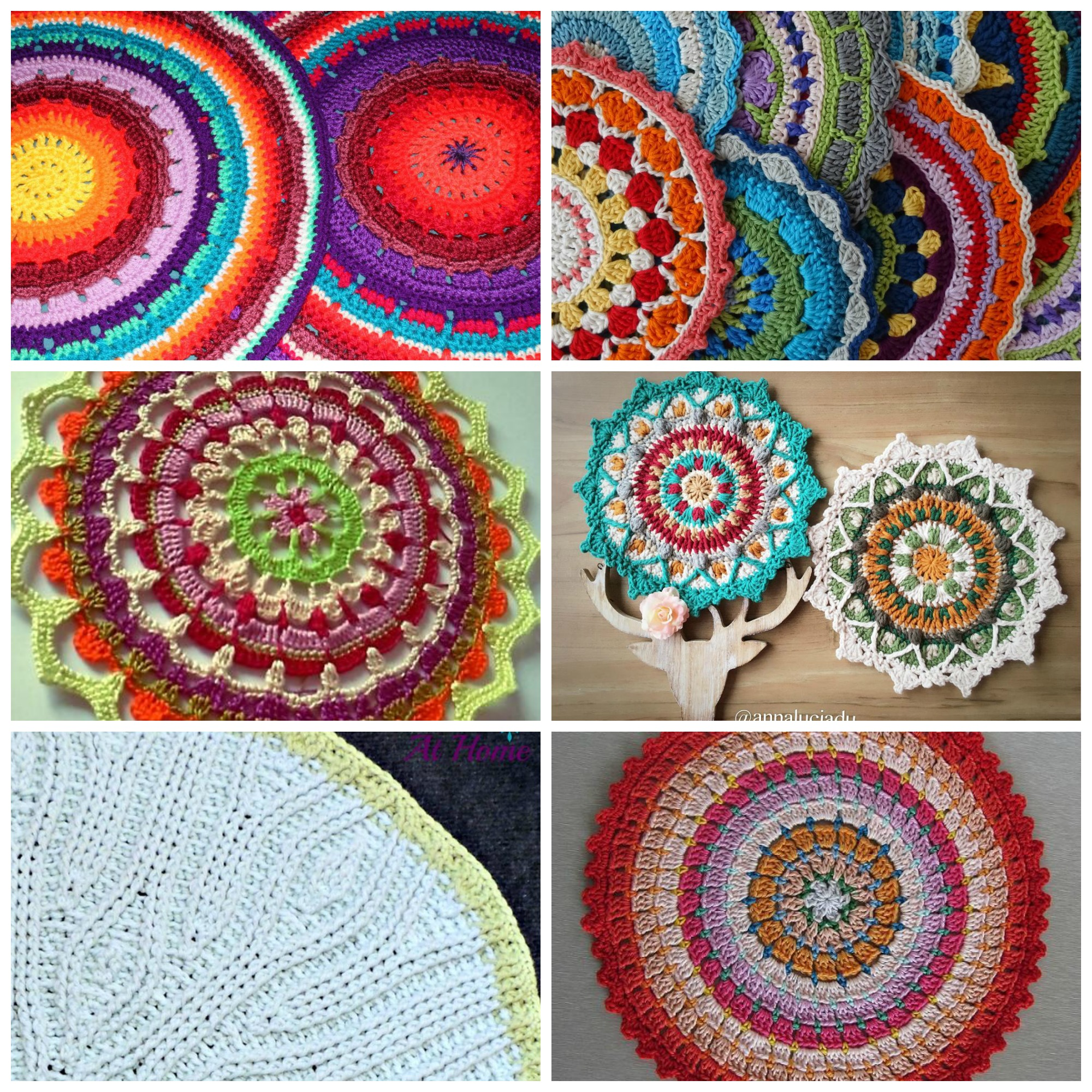 Mandala Crochet Patterns