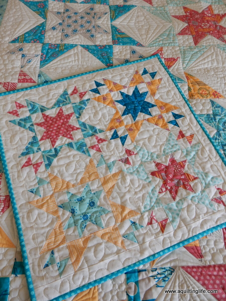 Star Bright Mini by A Quilting Life