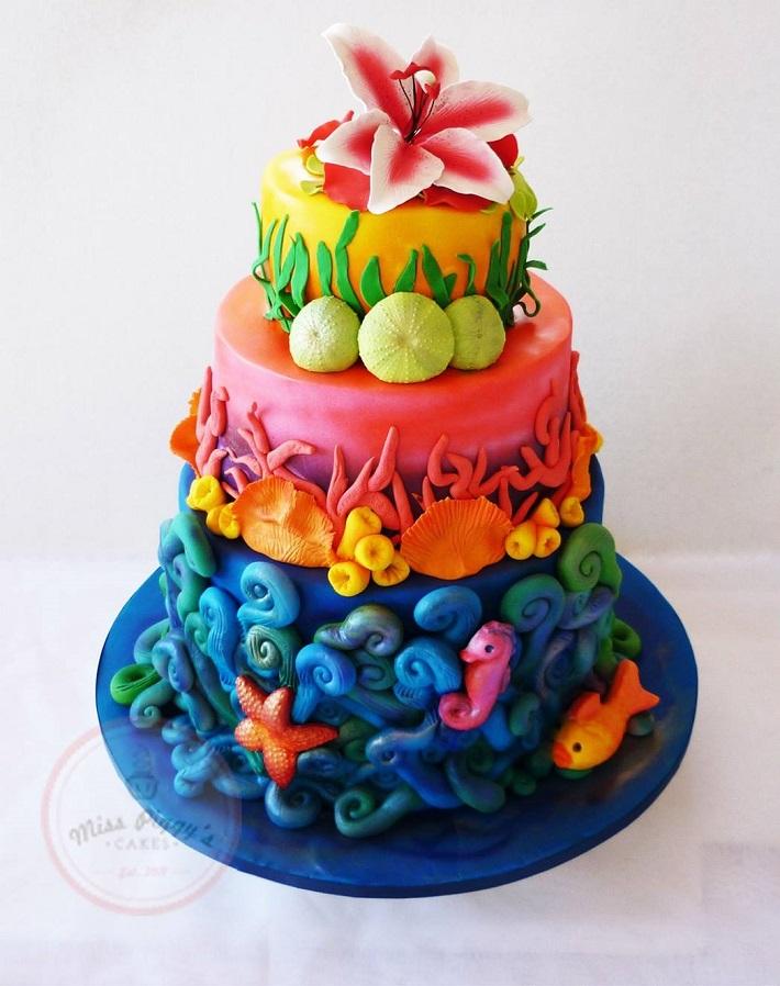 Fantasea cake