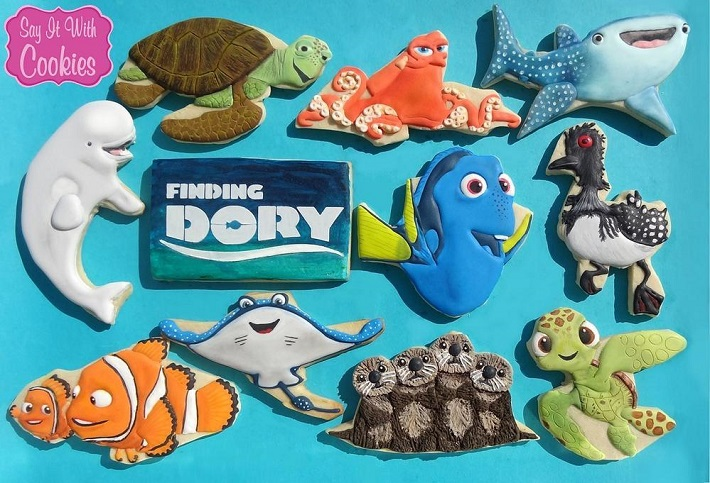 Fining Dory cookies