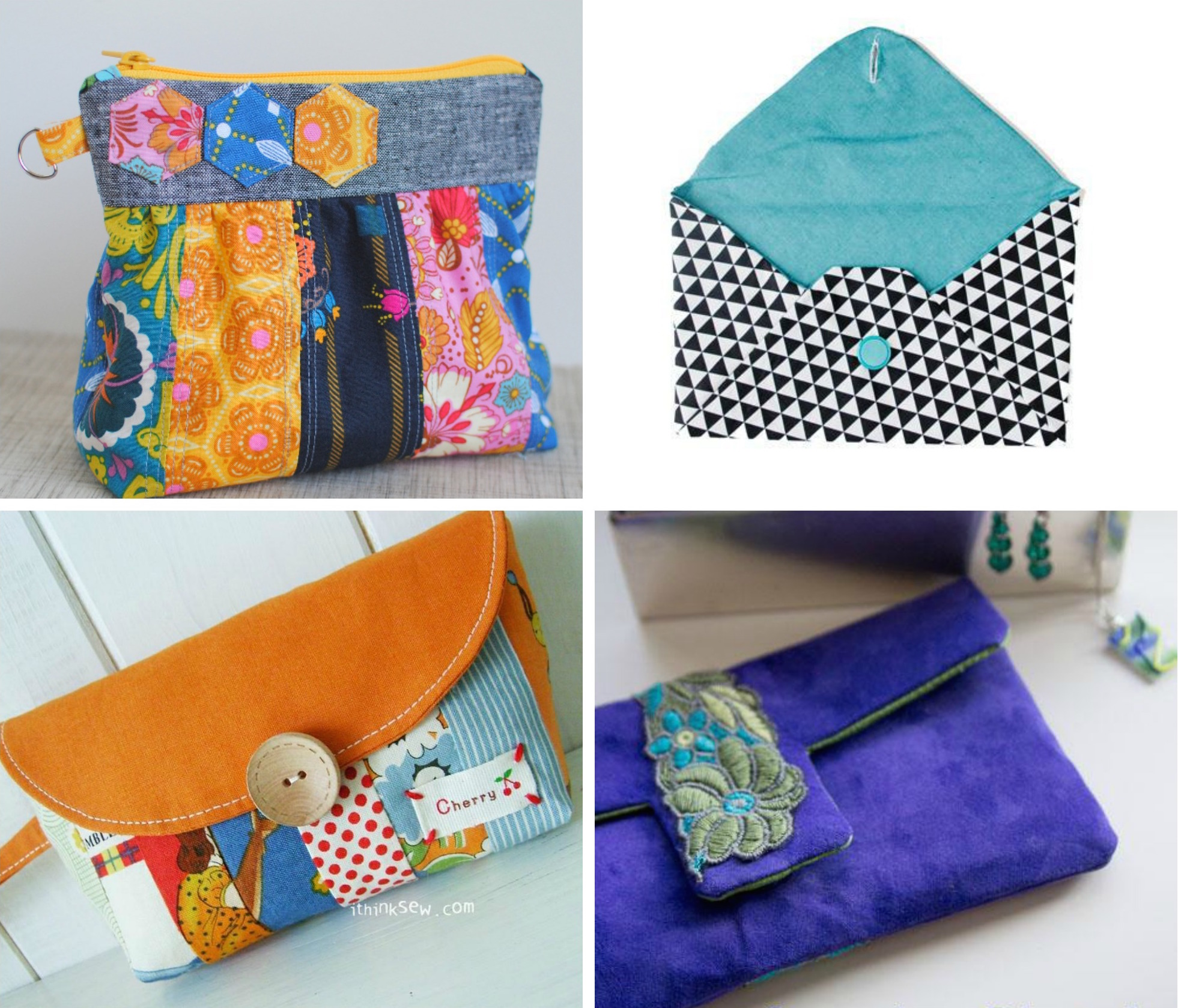 Free Clutch Sewing Patterns