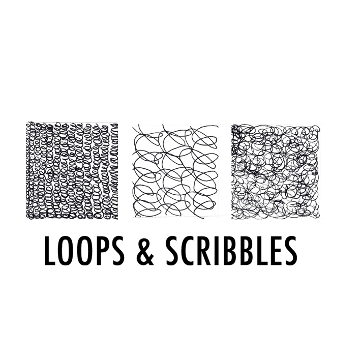 Loops and scribbles