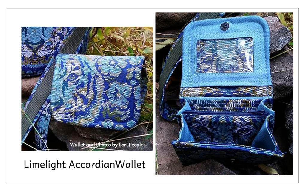 Limelight Accordion Wallet - RLR Creations