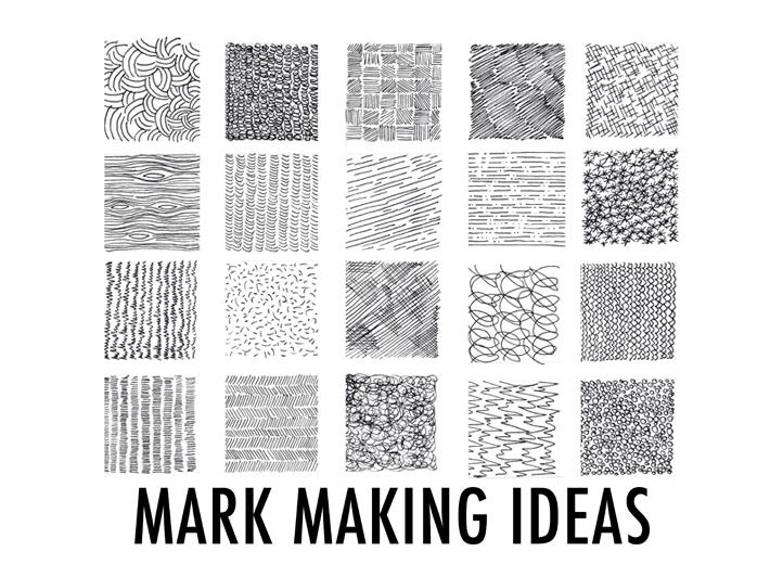 Mark making ideas