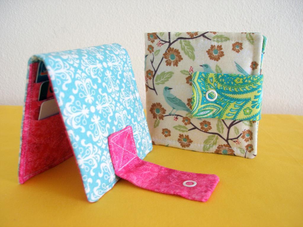 Super Simple Wallet - So Sew Easy