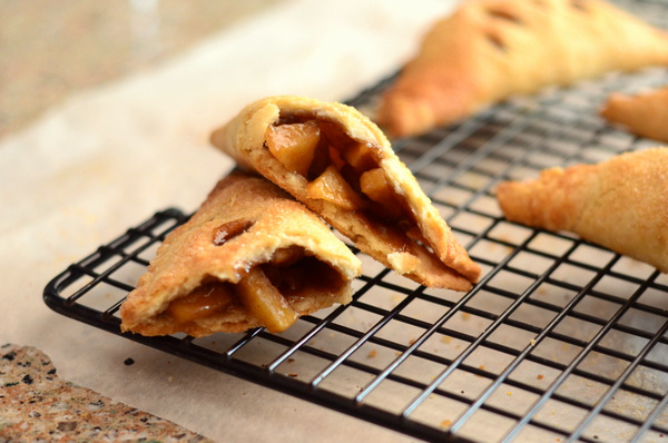 Easy to Make, Homemade Apple Pie Turnovers