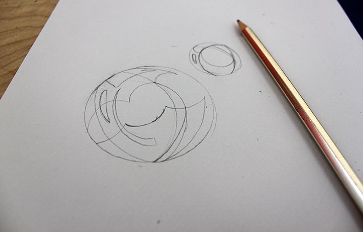 drawing contour lines in bubble