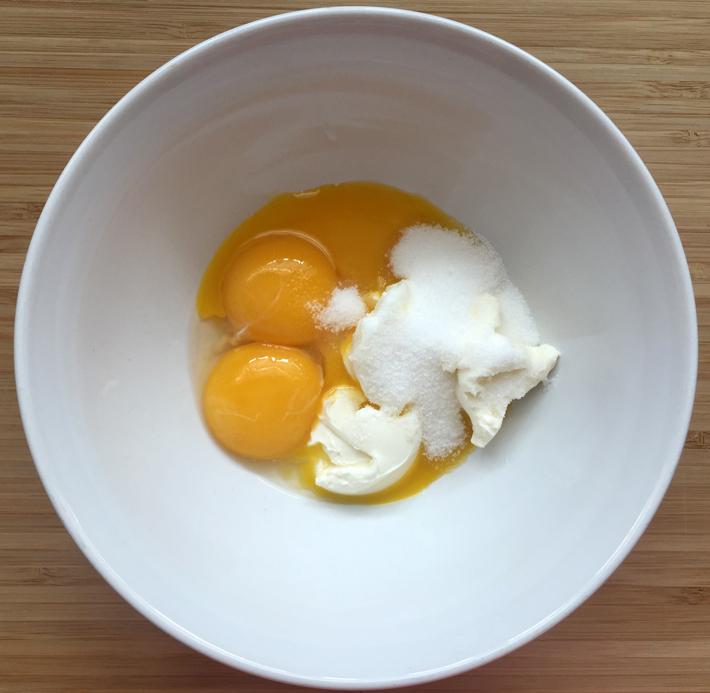 yolk mixture