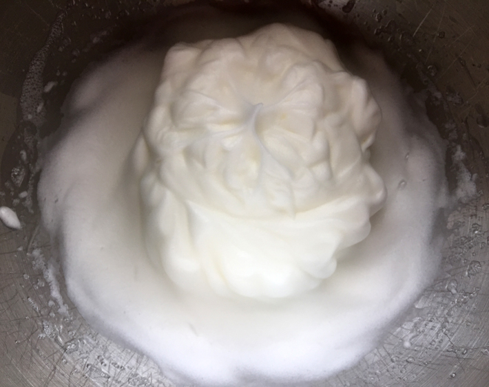 whip egg whites