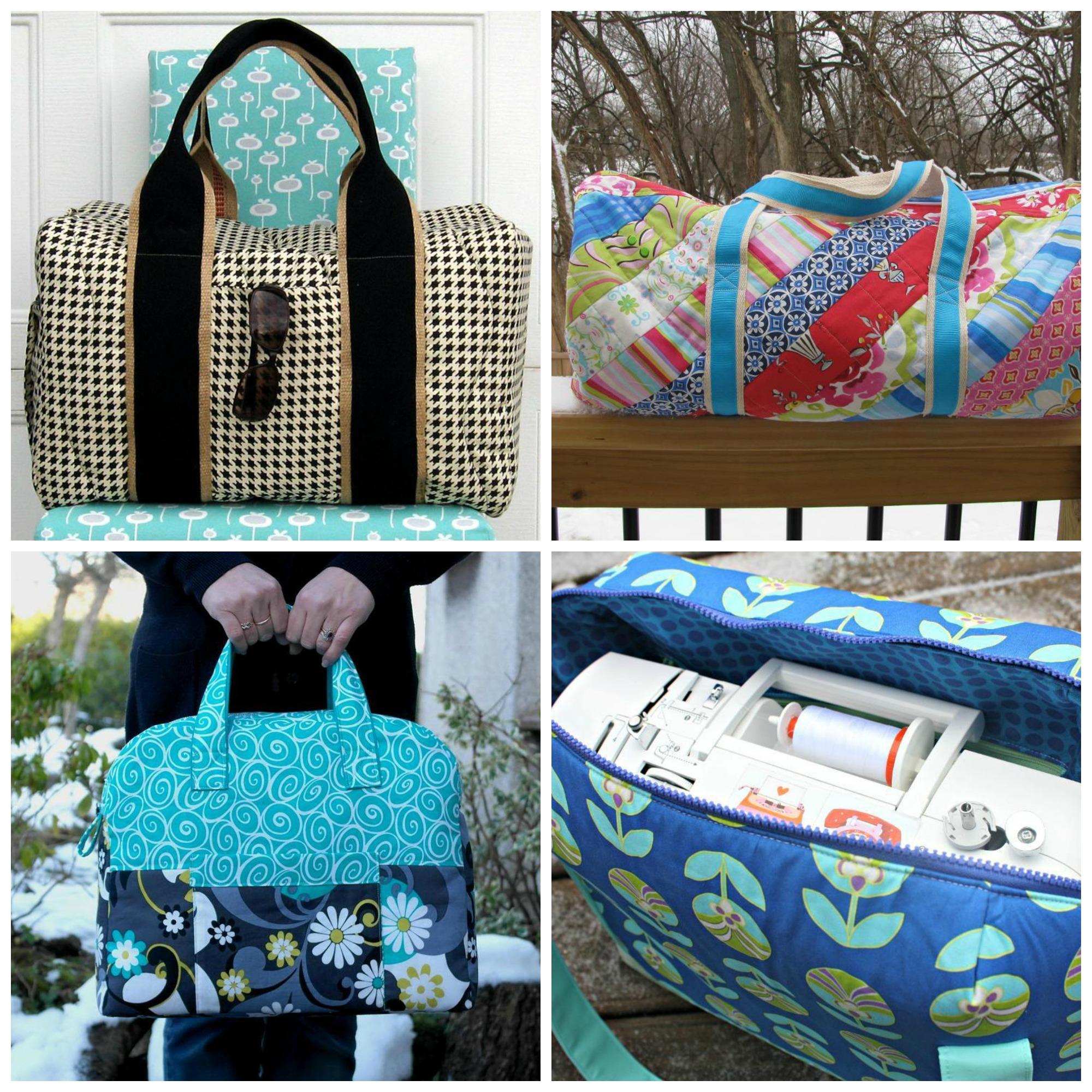 Duffel Bag Sewing Patterns