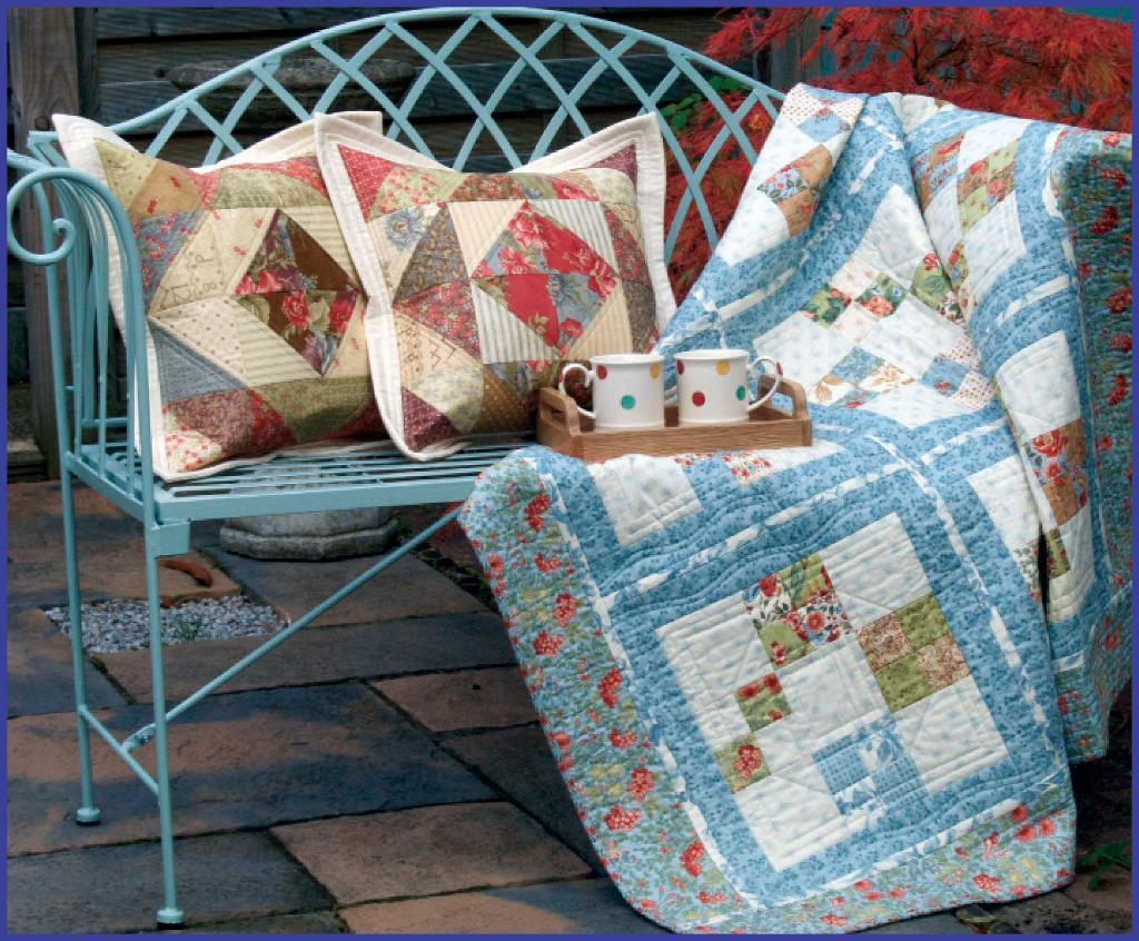 Charming Four Patch Quilt