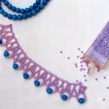 Summer Violet Necklace
