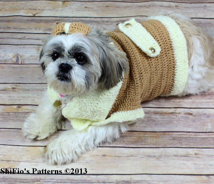 Dog Coat Crochet Pattern