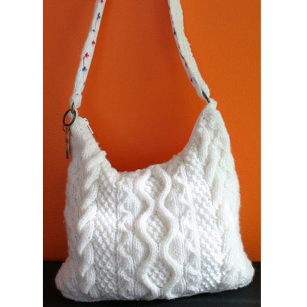 Cable Bag FREE Knitting Pattern